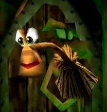 Gruntilda's Broomstick