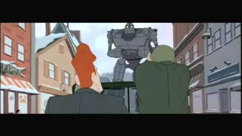 The Iron Giant - Kent tells a lie.