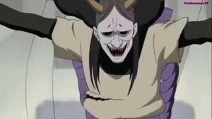 Orochimaru revives the first 4 Hokage