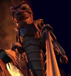 Hopper's evil grin