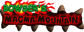 Bowser's Magma Mountain (logo)