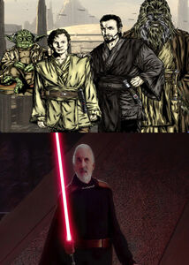 Count Dooku - Two Sides