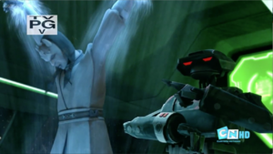 TV-94 warning Anakin and Gallia
