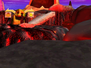 Bowser's Magma Mountain 2