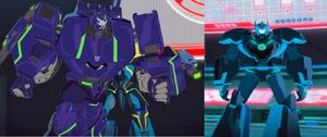 Treadshock Autobot disguise