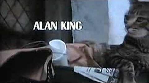 Opening of Cat's Eye (1985) with Saint Bernard chasing cat