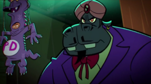 Hypno-Potamus Evil Stare