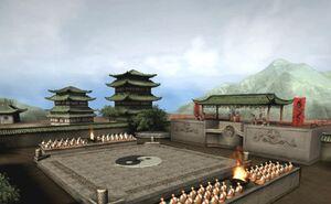 Master Shang Tsung's Island