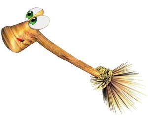 Gruntilda Winkybunion's Broomstick