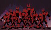 The Minions of Aku
