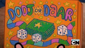 The Dodj or Daar Board Game