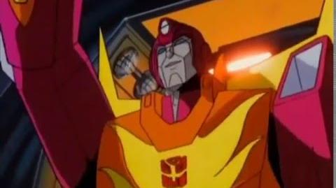 Transformers G1 The Movie - Unicrons Death