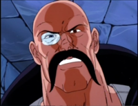 Dr. MindBender's evil glare