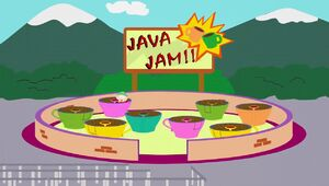 The Java Jam Ride