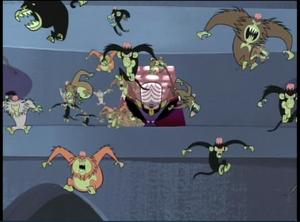 Mojo Jojo sends the evil primates