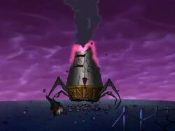 Destruction of Dr. Zalost's Tower