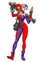 Harley Quinn the Harlequin