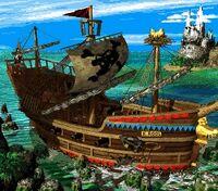 The Kremling Krew's Gangplank Galleon