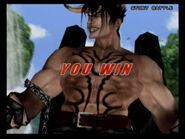 Devil Jin - Evil Laugh Win Animation - Tekken 5
