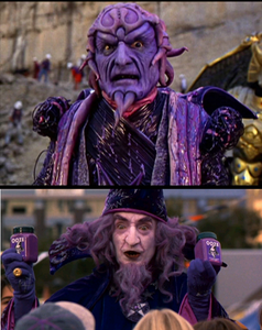 Ivan Ooze as Purple Wizard