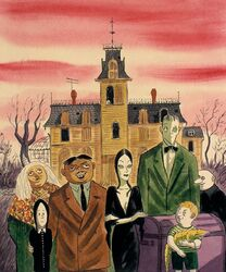 The Addams Clan