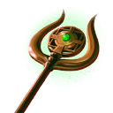The Amulet Staff of Shinnok