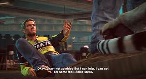 Chuck oferuje pomoc Tedowi