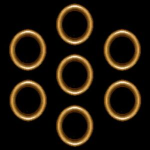 The Dark Power Rings