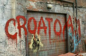 Croatoan Virus Graffiti