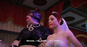 Randall zgadzający się na ślub z Danni Bodine
