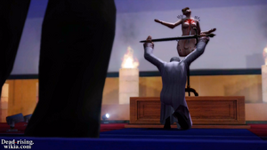 Sean podnoszący Miecz Ceremonialny