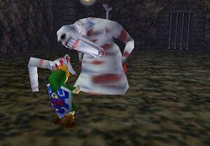 Dead Hand Grab Link Ocarina