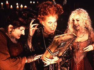 The Sanderson Sisters & the Spellbook