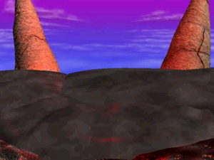 Bowser's Magma Mountain 8