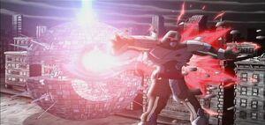 Utrom Shredder vaporized