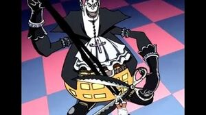 Gecko Moria steals Luffys SHADOW - Gecko Moria Devil Fruit Power at Thriller Bark