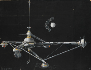 Moonraker Space Station