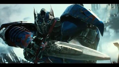 Infernocus vs Optimus Prime - Transformers 5 The Last Knight HD