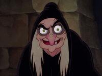 Hag Grimhilde's Evil Grin
