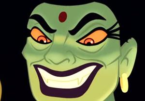 Putna's evil smile