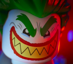 Lego Joker scary grin