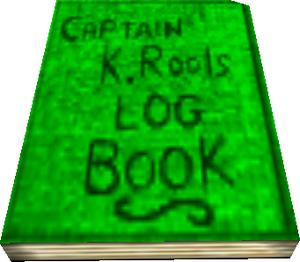 Kaptain K. Rool's Log Book