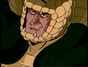 Serpentor evil smile