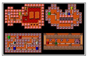 Koopa Kingdom Map