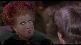 Hocus Pocus Best scene Bette Midler Sarah J. Parker Kathy Najimy Omri Katz Thora Birch Vinessa Shaw