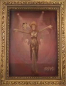 Portret Bibi Love w gabinecie Marian Mallon