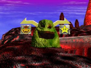 Bowser's Magma Mountain 3