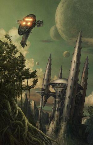 Count Dooku's Castle