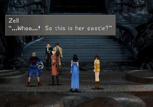 Outside the Ultimecia Castle's Front Gate