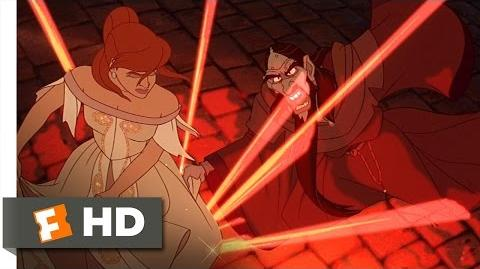 Anastasia (5 5) Movie CLIP - Anastasia Destroys Rasputin (1997) HD
